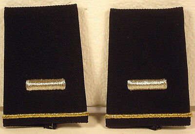 US Army First LT Epaulet Soft Shoulder Boards Small Size for Dress Blues