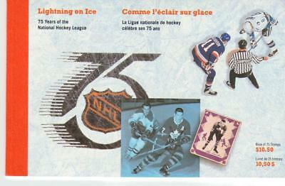 1992 Canada SC# BK 148 - Lightning on Ice - book of 13 M-NH