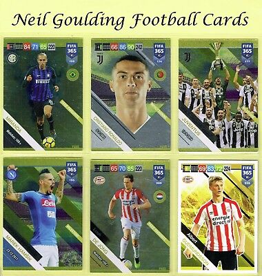 Panini FIFA 365 2019 ☆☆☆☆☆ TEAM MATE / FANS ☆☆☆☆☆ Football Cards #154 to #225