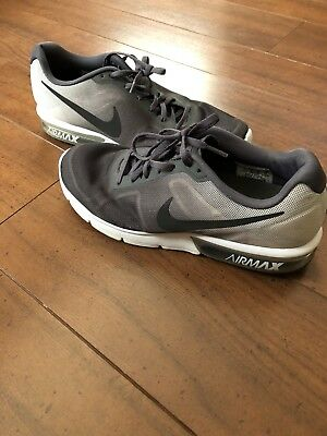 cheap for discount 344c3 52b15 Mens older Boys Nike Air Max Sequent Trainers Size 9 Grey