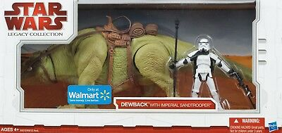 Hasbro - Star Wars - Dewback With Imperial Sandtroooer - Legacy Collection 2009