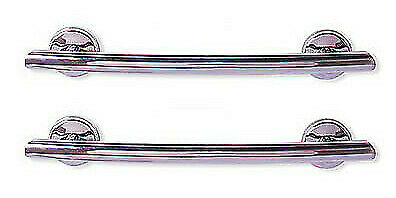 CLOSEOUT Grabcessories 2-Pack Curved Grab Bars CHROME (81000)