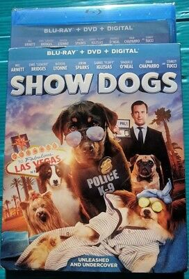 NEW Show Dogs 2018 Blu ray & DVD NO DIGITAL BLUERAY bluray movie Comedy/kids