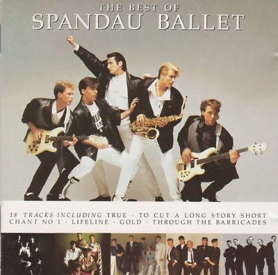 SPANDAU BALLET the best of (greatest hits) (CD, compilation) synth pop, ballad