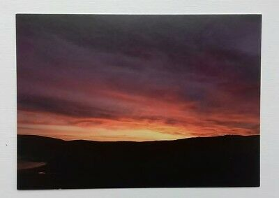 Eshaness, Sunrise over, Shetland Postcard