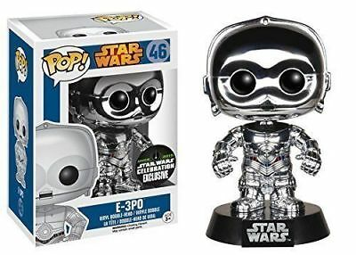 POP! Star Wars E-3PO Chrome Convention Special**RARE**BRAND NEW**FREE POSTAGE**