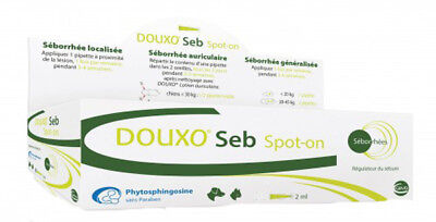 Douxo Seb Spot On Cats And Dogs 25 Pipettes phytosphingosine to protect the skin