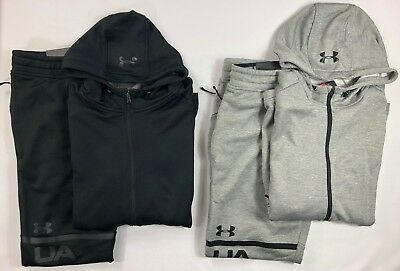Men's Under Armour Coldgear FITTED LIGHTWEIGHT Hoodie and Athletic Pants Set