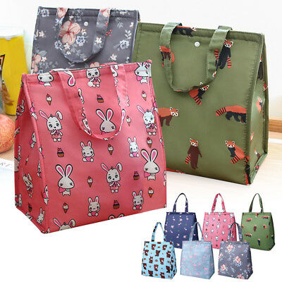 CUTE CHILDRENS ADULT Lunch Bags Insulated Lunch Bag Picnic Bags School  Lunchbox