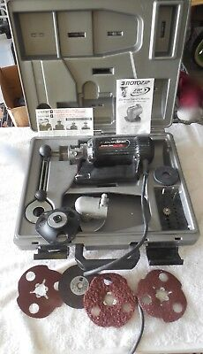 Rotozip Zip Mate Spiral Saw Rotary Tool With Case Bundled