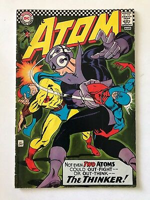 The Atom #29 (DC Comics; March, 1967) - 1st solo Golden Age Atom x-over - Fine