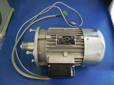 B5 1000 rpm min 80 ICME Italy T80A6B5 3 Phase Motor Drehstrommotor  0,37 kW