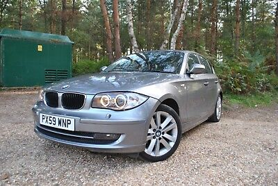 BMW 120i 2009 59 12 months MOT 50k miles Perfect condition leather interior low