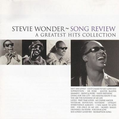 STEVIE WONDER song review (a greatest hits collection) (CD, compilation) soul