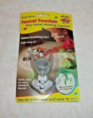 1994 Looney Tunes Bugs Bunny Faucet Fountain - Sealed