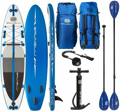 Brunelli 10.8 Premium Sup Board Stand Up Paddle Surf-Board Gonflable Isup 325cm