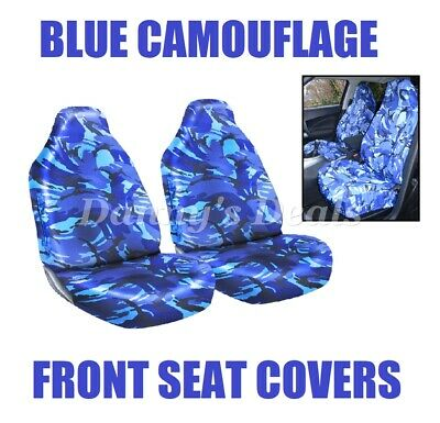 Brilliant Hd Blue Camouflage Front Seat Covers For Land Rover Range Squirreltailoven Fun Painted Chair Ideas Images Squirreltailovenorg