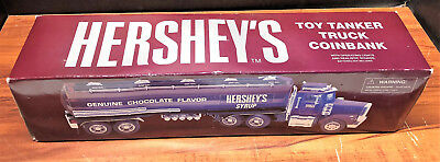 Collectible rare Hershey's Toy tanker truck coin 1/32 scale in original box