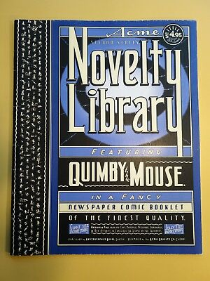 ACME NOVELTY LIBRARY #2 Quimby the Mouse, by Chris Ware, Fantagraphics 1994