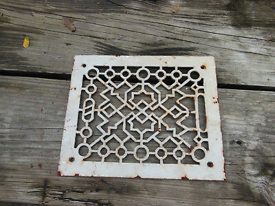 Antique Cast Iron Wall Plate Stove Cover Vent Register
