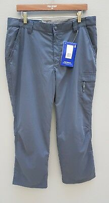 BERGHAUS Pants Womens Size 16 Navigator Thermal Grey Trek Hike Snow Outdoors XL