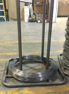 """17-7 PH Stainless Steel Wire Coil 0.137"""" Diameter 38 Lbs"""