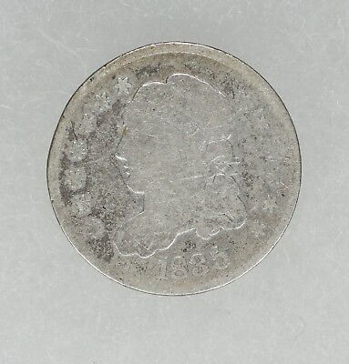 1835 Capped Bust Half Dime H10C Average Circulated (6441)