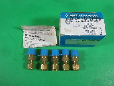"Imperial Eastman 768-FB 02 x 04/ 768-FB 1/8"" x 1/4"" (Lot of 5) New"