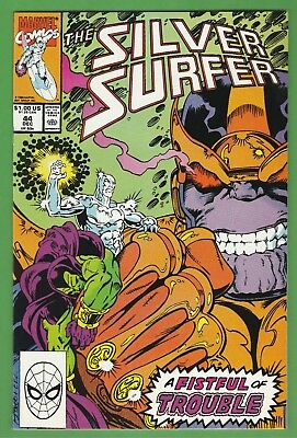 "Silver Surfer Vol 3 #44 ""Epiphany"" 1st appearance of the Infinity Gauntlet"