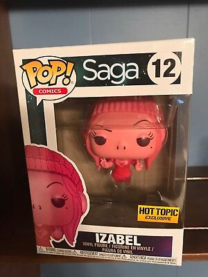 SAGA IZABEL Pop Funko HOT TOPIC EXCLUSIVE