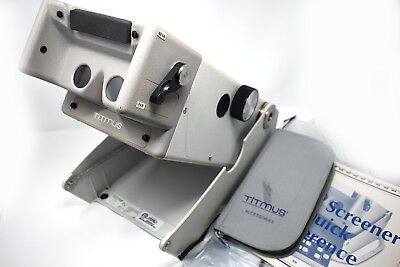Titmus 2s Vision Screener With Accessories and case