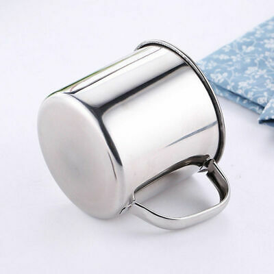 200/380ml New Portable Outdoor Travel Stainless Steel Coffee Tea Mug Cup Camping