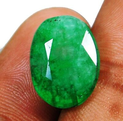 Natural 9.90 Ct Beautiful Oval Cut Colombian Emerald Loose Gemstone. 9073 WEQ