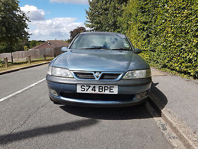 Vauxhall Vectra Hatch 1998 2.5 V6 5 Speed Manual 89K Miles From New Lady Owner