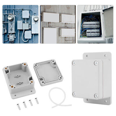 Waterproof Junction Boxes Wire Connection Outdoor Waterproof Enclosure 7sizes US