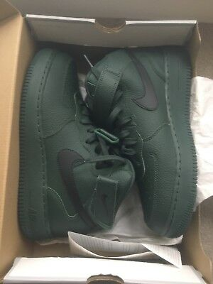 Nike Air Force 1 Mid 07 Exclusive Very Rare Size 7.5 Uk Limted Edition Green 0b90e73cca44