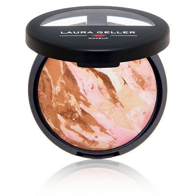 Laura Geller Bronze n Brighten Baked Color Correcting Bronzer Full 9g *Boxed*
