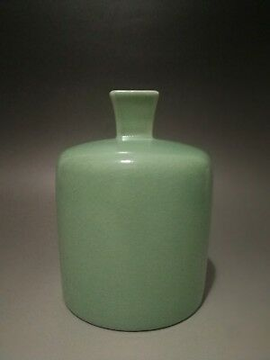 Antique Chinese Porcelain Green Vase