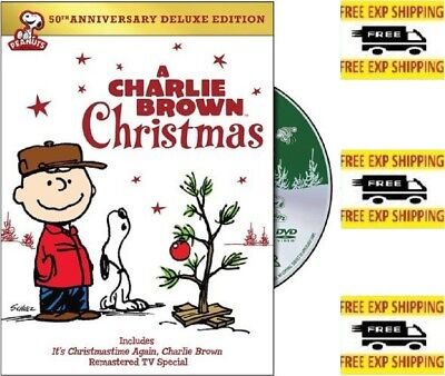Charlie Brown Christmas 50 Anniv DE Various (English) (25 minutes) (DVD)