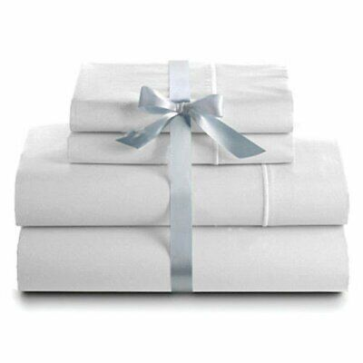 1000TC 4Pieces Ultra Soft Bed Sheets Sets For Single/Double/Queen/King Size