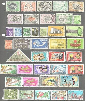 Nigeria Clearance - 40 Used Stamps All Different