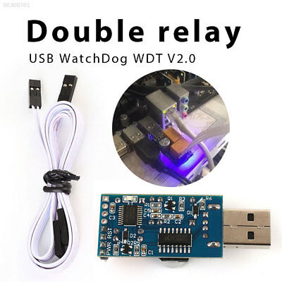 991E V2.0 USB WatchDog Card Monitor Game New Double Relay
