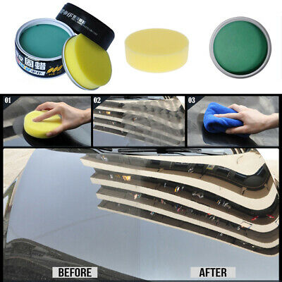 Fusso999 Car Automobile Polish Polishing Wax Fixation UV Protection Coated Solid