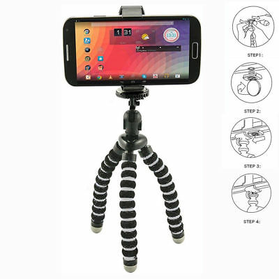 Camera Cam DSLR SLR Flexible Tripod Gorilla Octopus Mount Stand Holder 1/4-20#^