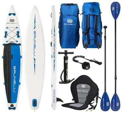 BRUNELLI 12.6 Premium SUP Touring iSUP Double Layer Surf-Board 381cm