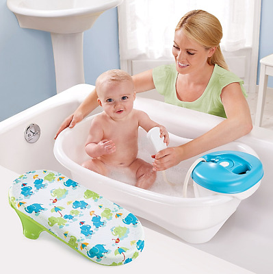 Newborn Infant Bath Tub With Motorized Baby Shower Toddler Child Bathing Center