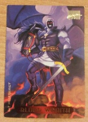 MARVEL Masterpiece 1994 Card BLOOD WRAITH #14 Collectors Edition