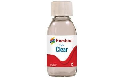 Humbrol - Discount Codes Allowed - Clear Satin 125ml - AC7435