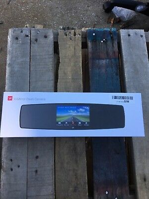 Mirror Dash Cam Dual Dashboard Camera Recorder with Touch Screen Front Rear View