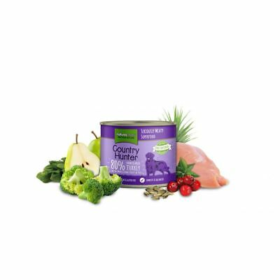Natures - Country Hunter Farm Reared Turkey Can - 600g